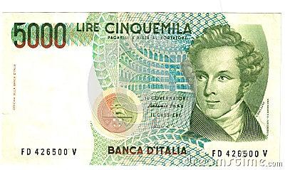 5000 liras