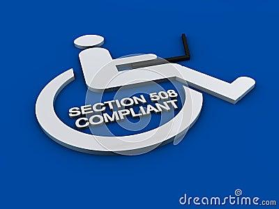 第508部分可及性残疾