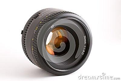 50mm auto-focus camera lens