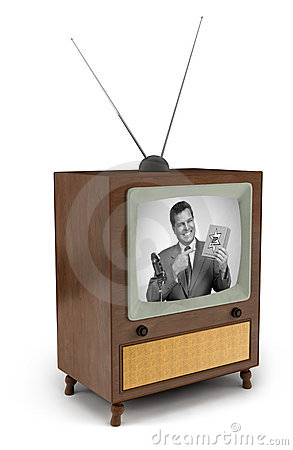 Free 50s TV Commercial Royalty Free Stock Image - 5840606