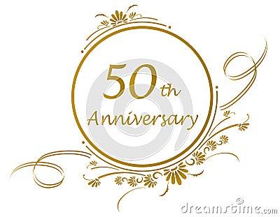 50th anniversary design