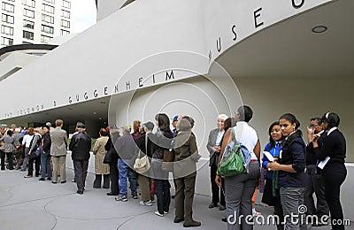 50th Anniversary of Guggenheim Museum Editorial Image