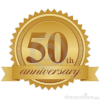 Image result for fiftieth anniversary