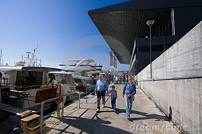 50th edition of the Boats show in Genoa Editorial Photography