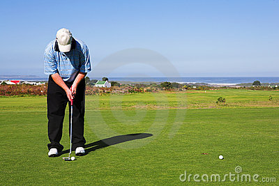 55高尔夫球运动员
