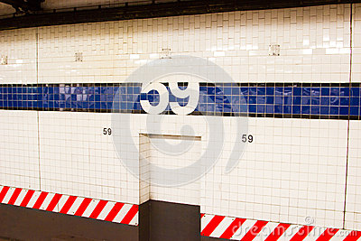 59th Street Subway Station, NYC