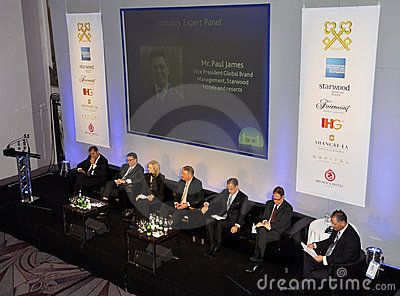 59th UICH les Clefs d Or International Congress Editorial Image