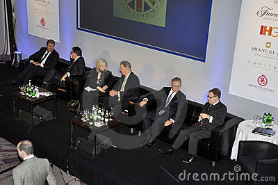 59th UICH les Clefs d Or International Congress Editorial Stock Image