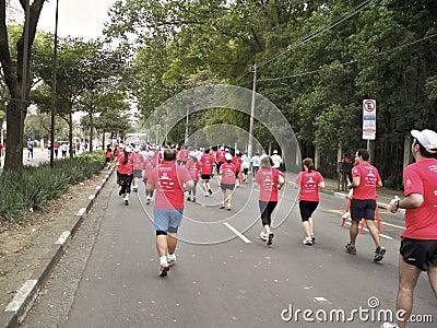 5K Street Race Editorial Photo
