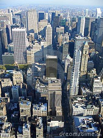 Free 5th Avenue From Above, New York Royalty Free Stock Photo - 1689075
