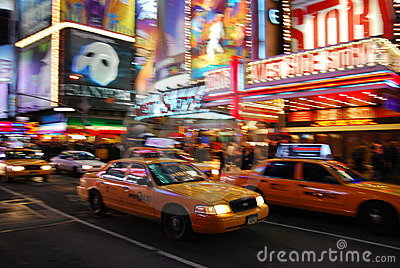 5th avenue, New York City Editorial Stock Image