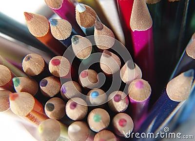 6 χρωματισμένα μολύβια