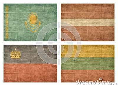 6/13 Flags of European countries