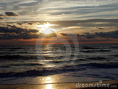 6海洋日出