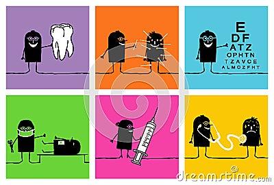 6 characters - doctors 2
