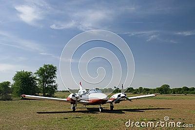 6-seats plane in tanzania