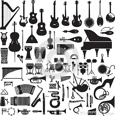 Free 60 Images Of Musical Instruments Royalty Free Stock Images - 39503489