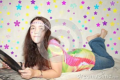 60s teen girl