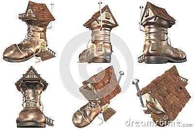 641 Fairy Tale Old Shoe House
