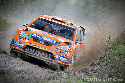 66th Rally Poland 2009 - Henning Solberg Editorial Image