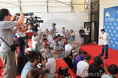 69th Venice Film Festival Editorial Stock Photo