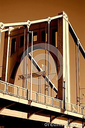 Free 6th Street Bridge Allegheny River Stock Photos - 8736673