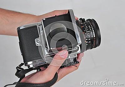 6X6 format camera