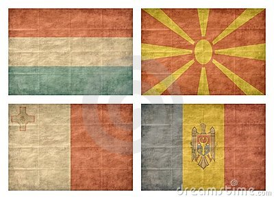 7/13 Flags of European countries