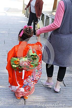 7,5,3 (shichi-gaan-San) - kostuum