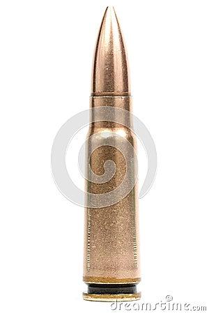 Free 7.62 Caliber Bullet Stock Photography - 34781202