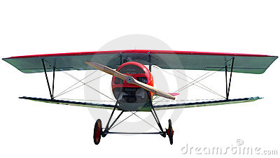 7/8 Replica of a 1916 French Nieport Biplane