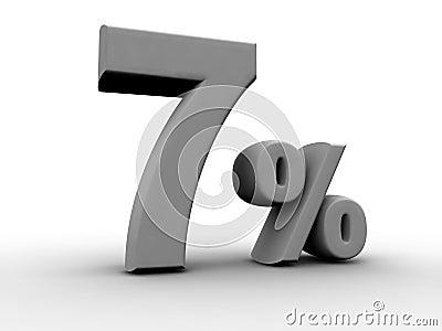 7 Percent