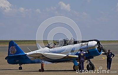 7059 - N. American AT-6C Harvard Mk 3 - Nellie Editorial Photo
