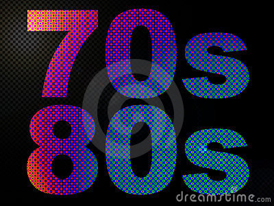 70s and 80s LED Neon Psychedelic Light Sign