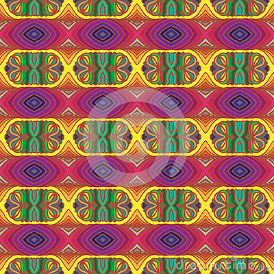 70s Vector Psychedelic Pattern With Stripes Royalty Free Stock Photo - Image: 29303175