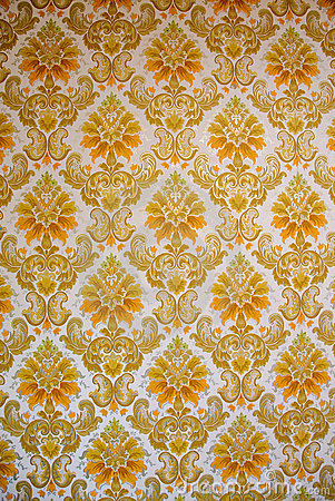 70s Wallpaper Patterns 4 Stock Photos