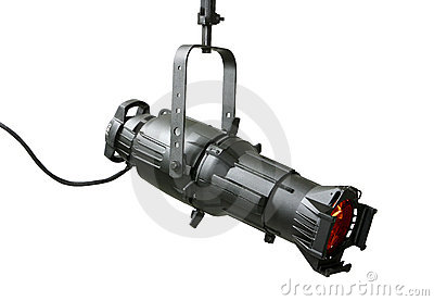 750 Watt Ellipsoidal Theatrical Light Fixture