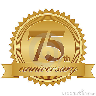 75th Anniversary Seal