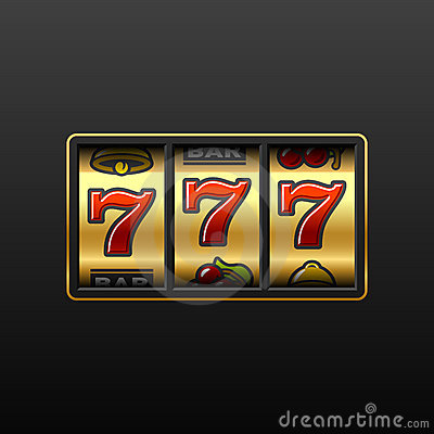 777. Winning in slot machine.