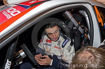 79th Rally de montecarlo , centenary  edition Editorial Image
