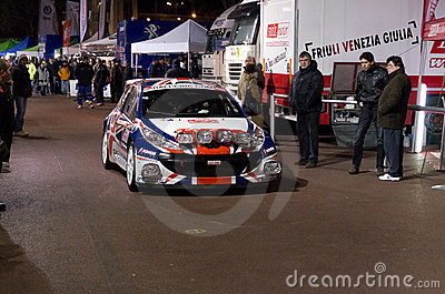 79th Rally de montecarlo , centenary' edition Editorial Photo