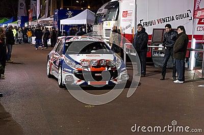 79th Rally de montecarlo , centenary  edition Editorial Photo