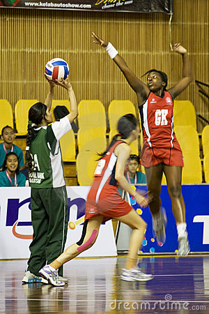 Free 7th Asian Netball Championship Action (Blurred) Royalty Free Stock Photos - 9942068