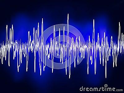 8音频电子eps正弦声波
