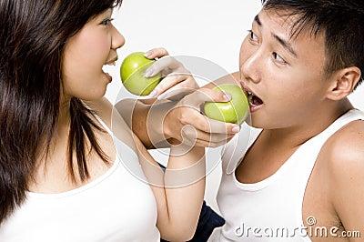 健康8对的夫妇