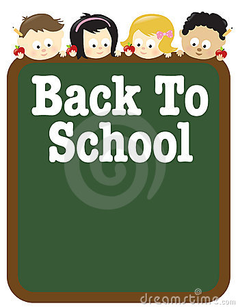 Free 8.5x11 Back To School Flyer Template Royalty Free Stock Photography - 12722817