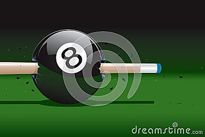 8 Ball Broken