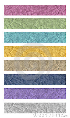 Free 8 Banners Of Fabric Royalty Free Stock Photos - 14392908