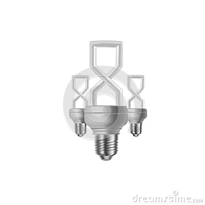 8 march and light bulb