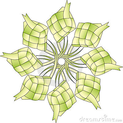 Isolated Ketupat Stock Illustrations – 16 Isolated Ketupat Stock ...